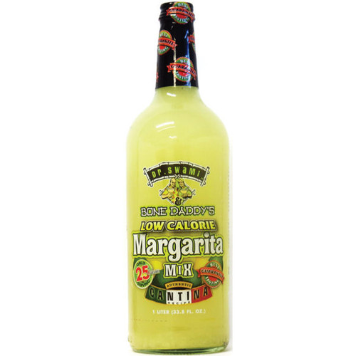 Dr. Swami & Bone Daddy's Low Calorie Margarita Mix 1L