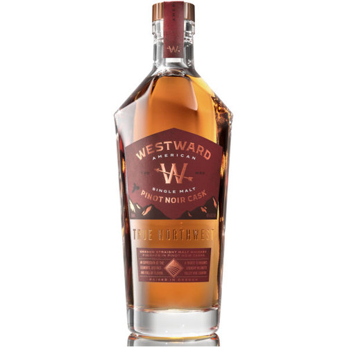 Westward Oregon Pinot Noir Cask American Single Malt Whiskey 750ml
