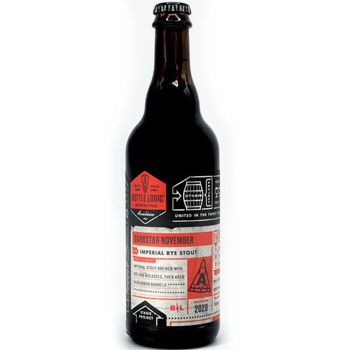 Bottle Logic Darkstar November Barrel-Aged Imperial Rye Stout 2020 500ml
