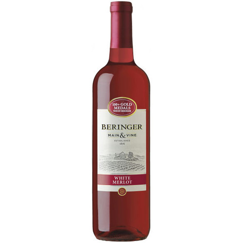 Beringer Main & Vine California White Merlot NV