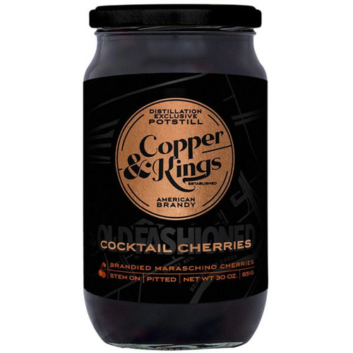 Copper & Kings Old Fashioned Cocktail Cherries 30oz