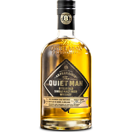 Quiet Man 8 Year Old Single Malt Irish Whiskey 750ml