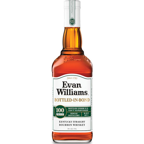 Evan Williams Bottled-in-Bond Kentucky Straight Bourbon Whiskey 750ml