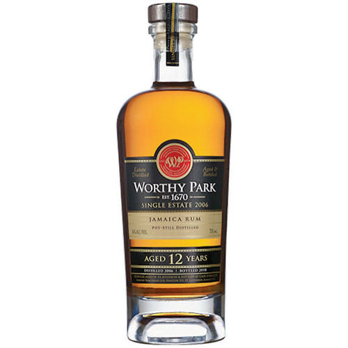 Worthy Park Single Estate 2006 12 Year Old Cask Strength Jamaica Rum 750ml