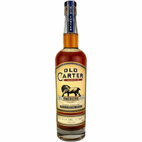 Old Carter 13 Year Old Straight American Whiskey, Batch 6 750ml