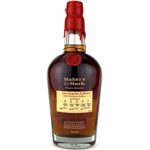 Maker's Mark Private Select Lakers Edition Bourbon Whisky 750ml