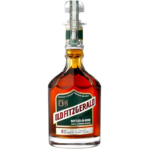 Old Fitzgerald 8 Year Old Bottled in Bond Kentucky Straight Bourbon Whiskey Spring 2020 750ml