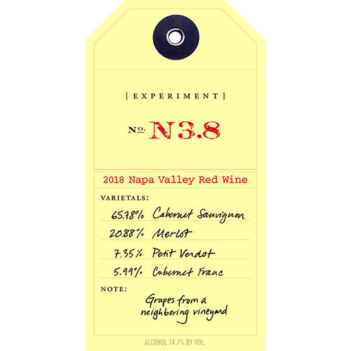Ovid Experiment N3.8 Napa Red Blend