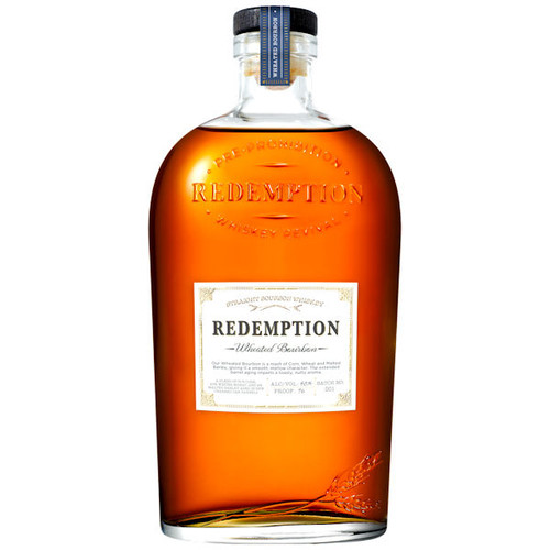 Redemption Wheated Bourbon Whiskey 750ml