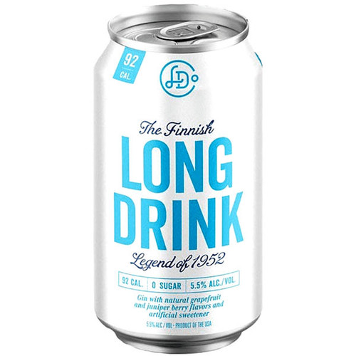 The Finnish Long Drink Zero Cocktail 12oz 6 Pack Cans