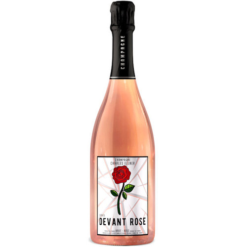 Devant Champagne Brut Rose Cuvee NV 750ml is full and round with smooth flavors and fine persistent bubbles. The extra measure of Chardonnay contributes elegance and austerity