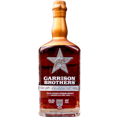 Garrison Brothers Guadalupe Port Cask Texas Straight Bourbon Whiskey 750ml