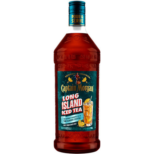 Captain Morgan Ready To Drink Long Island Iced Tea Cocktail 1.75L