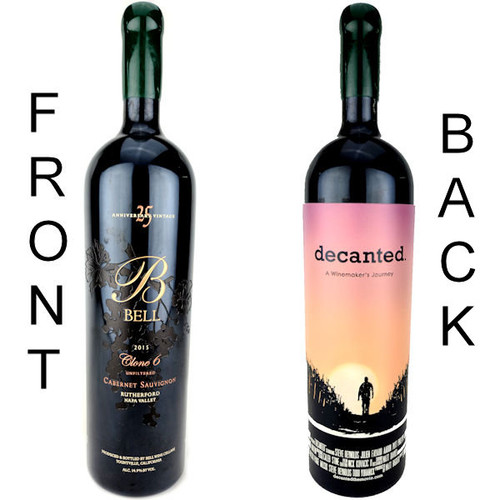 Bell Cellars 'Decanted' Commemorative Clone 6 Rutherford Cabernet