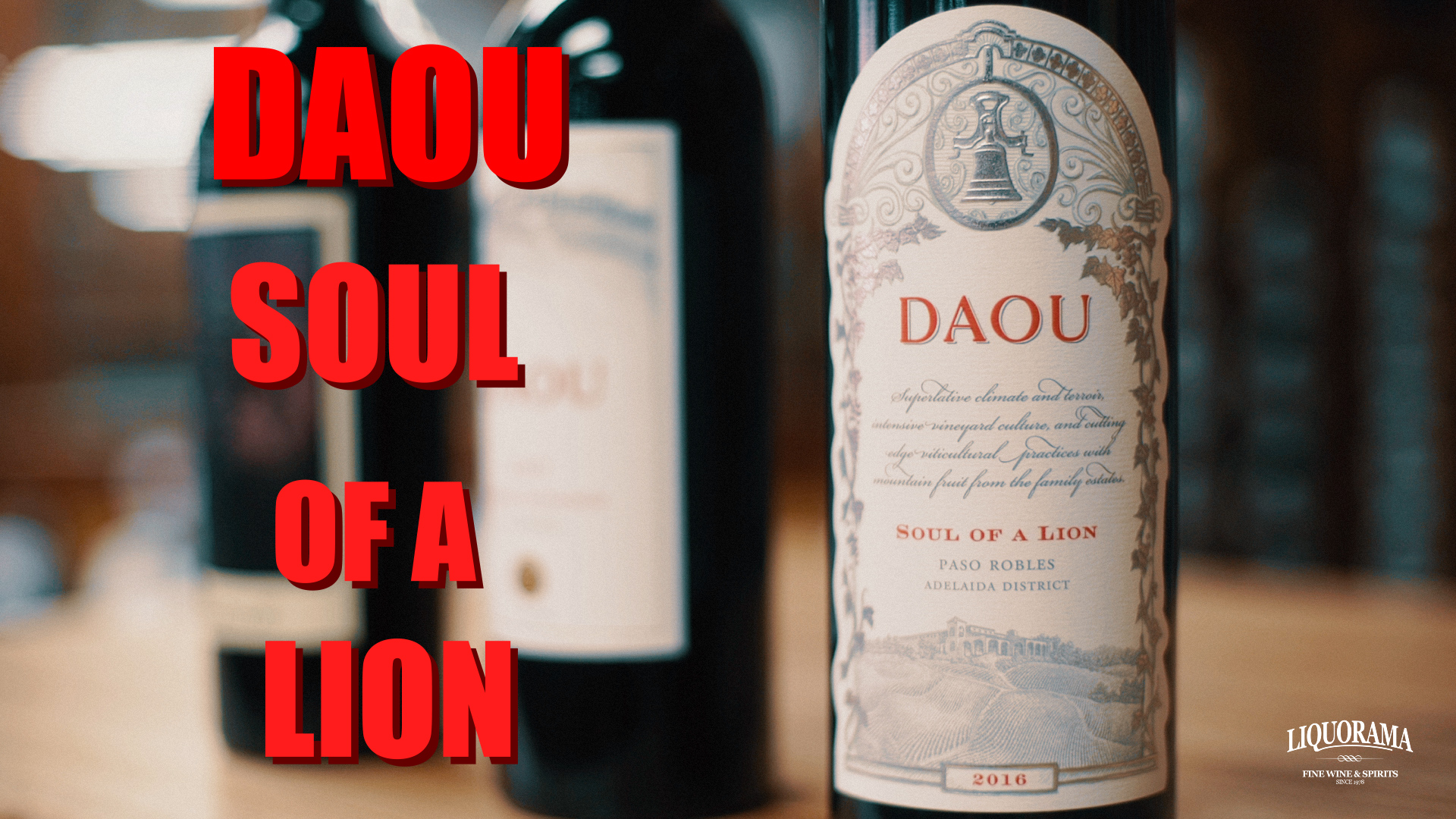 Daniel Brunner join us with DAOU Soul of a Lion!