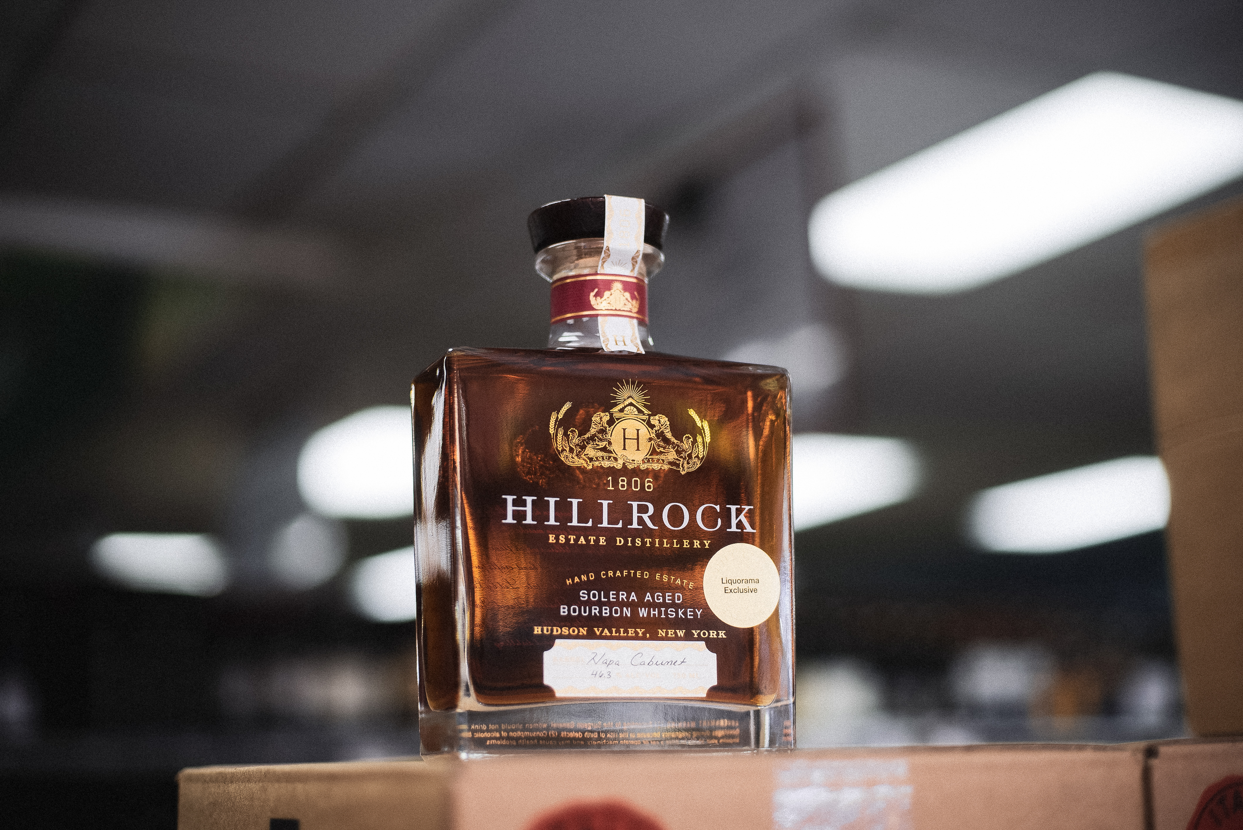 Exclusive: Hillrock Solera Aged, Napa Cabernet Finished Bourbon