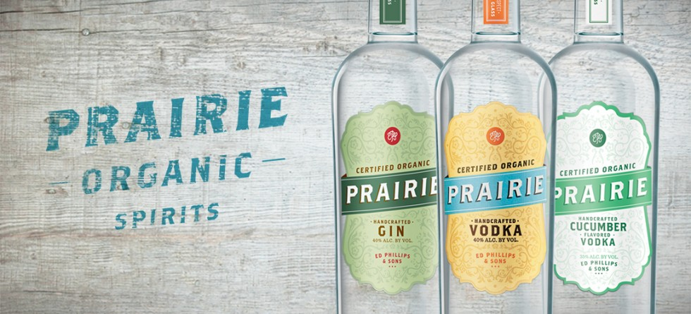 Prairie Organic Spirits Pledges Percentage of Proceeds to Support Organic Farming