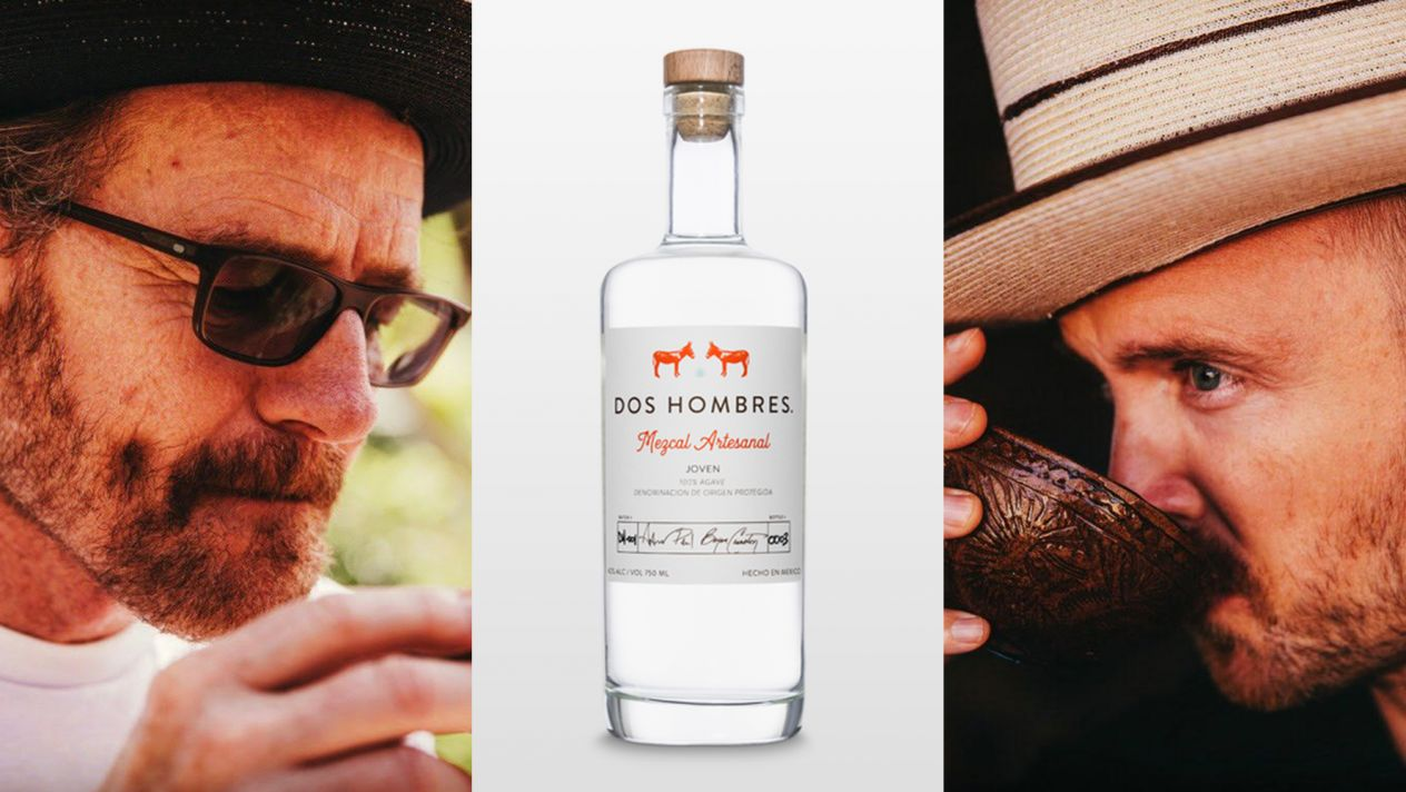 Bryan Cranston, Aaron Paul Announce New Line of Mezcal - Liquorama