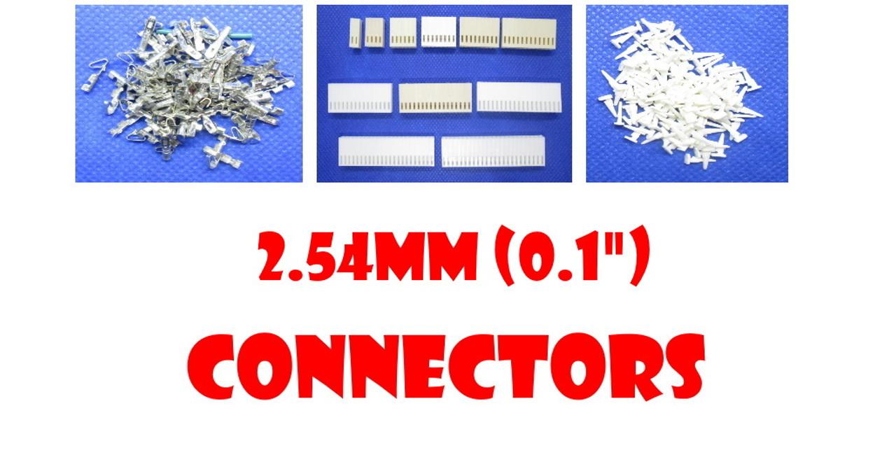 """2.54mm (0.1"""") Molex Connectors"""