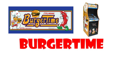 Reproduction Burgertime Wiring Harness
