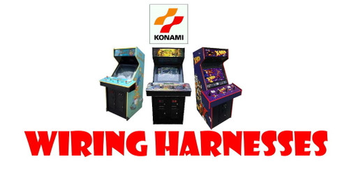 Reproduction Konami 4 Player Wiring Harness