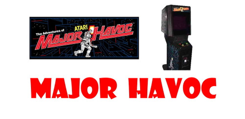 Reproduction Major Havoc Wiring Harness
