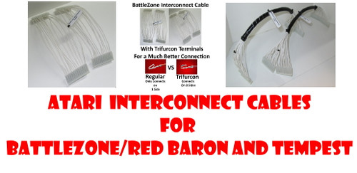 Atari Interconnect Cable for Battlezone, Red Baron or Tempest Games