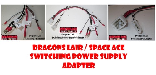 Dragons Lair / Space Ace Switching Power Supply Adapter