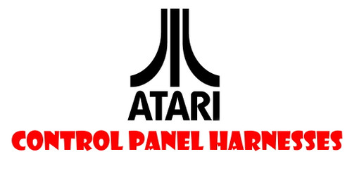 Atari Reproduction Control Panel Harnesses