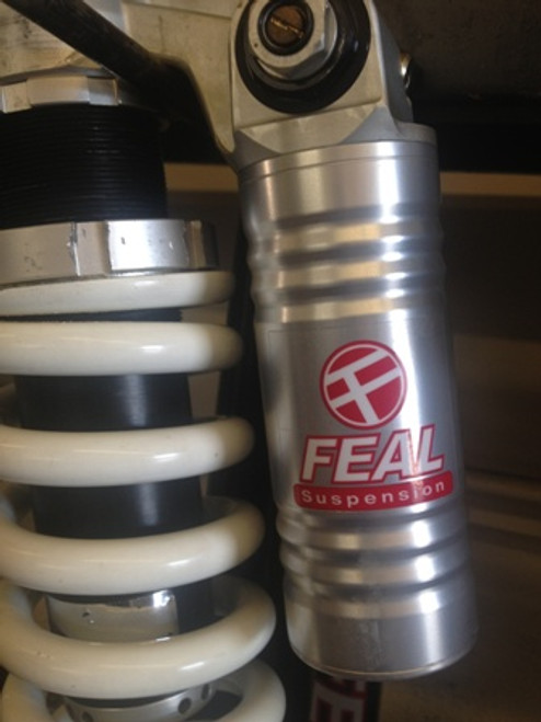 "2""x2"" Feal Suspension Decal"