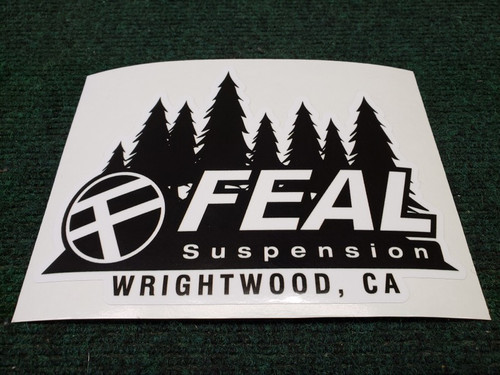 "Feal ""Forest"" Decal"
