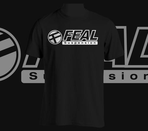 Feal White Logo T-Shirt