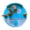 "Faria Spun Silver 4"" Tachometer (7000 RPM) (Outboard) [36005]"