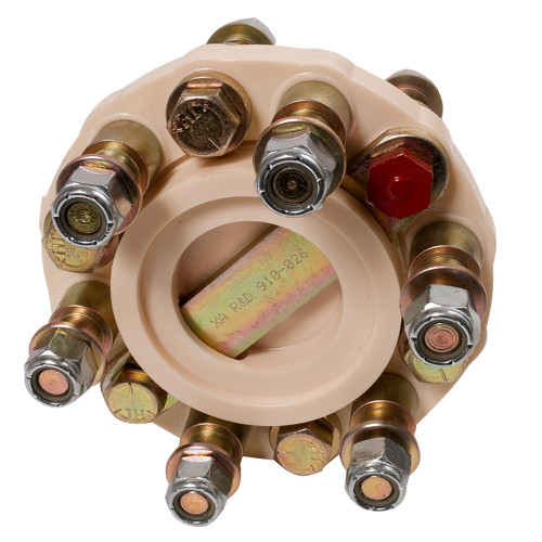 "R & D Flexible Shaft Coupling f\/6"" Twin Disc - 28HP\/100RPM Capacity [910-026]"