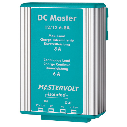 Mastervolt DC Master 12V to 12V Converter - 6A w\/Isolator [81500700]