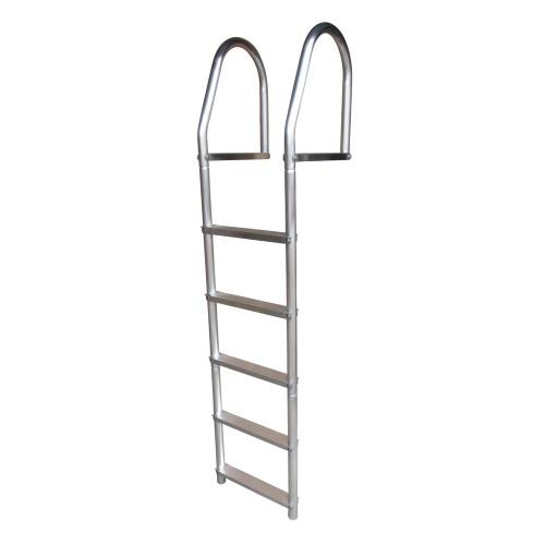 Dock Edge Fixed Eco - Weld Free Aluminum 5-Step Dock Ladder [2075-F]