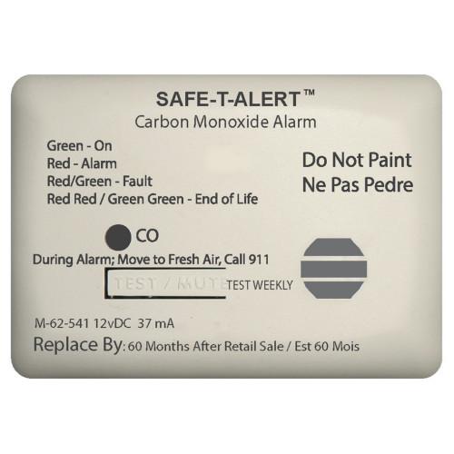 Safe-T-Alert 62 Series Carbon Monoxide Alarm w\/Relay - 12V - 62-541-Marine-RLY-NC - Surface Mount - White [62-541-MARINE-RLY-NC]