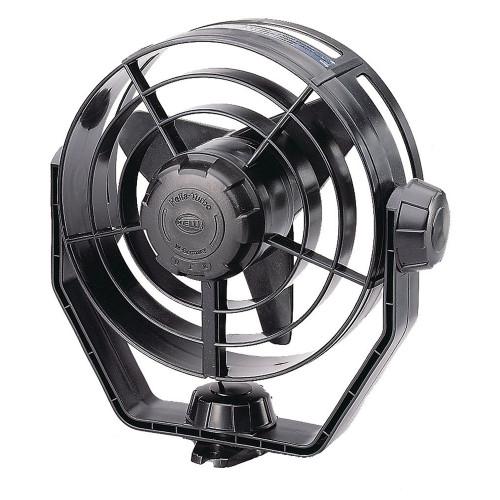Hella Marine 2-Speed Turbo Fan - 12V - Black [003361002]