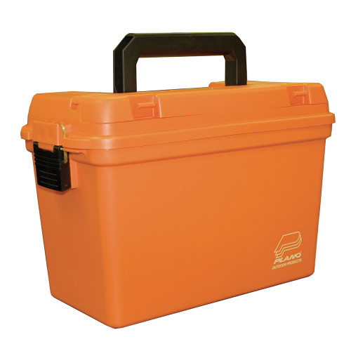 Plano Deep Emergency Dry Storage Supply Box w\/Tray - Orange [161250]