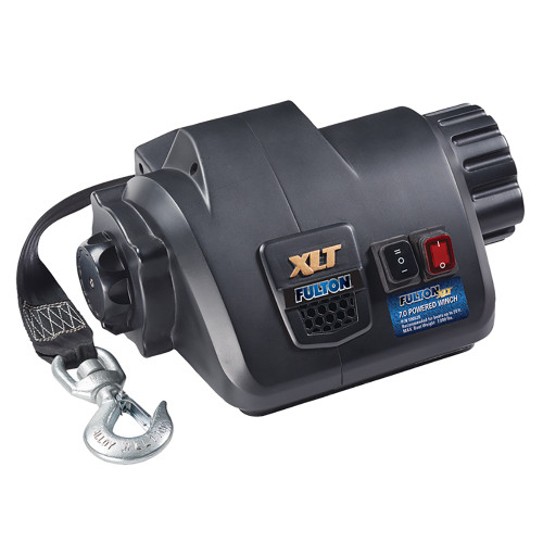 Fulton XLT 7.0 Powered Marine Winch w\/Remote f\/Boats up to 20 [500620]