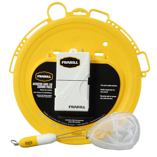 Frabill Aeration  Lid Combo Pack [99091]