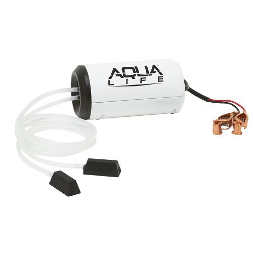 Frabill Aqua-Life Aerator Dual Output 12V DC Greater Than 25 Gallons [14213]