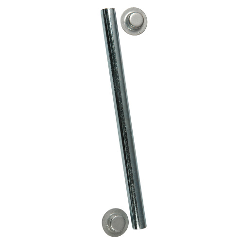 "C.E. Smith Package Roller Shaft 1\/2"" x 12-3\/4"" w\/Cap Nuts - Zinc [10705A]"