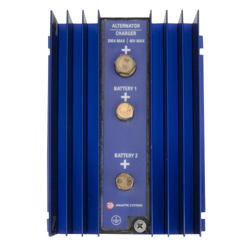 Analytic Systems 2-Bank Battery Isolator, 200A, 40V [IBI2-40-200]
