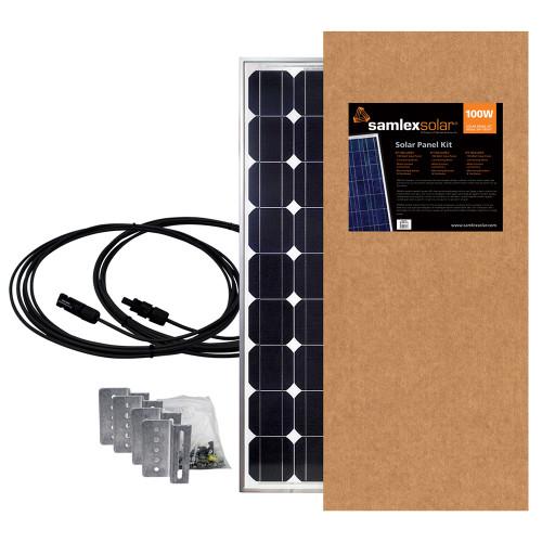 Samlex 100W Solar Panel Kit [SSP-100-KIT]