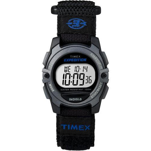 Timex Expedition Digital Core Fast Strap - Black\/Blue [TW4B02400JV]