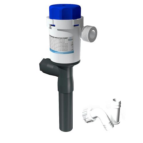 Albin Pump Cartridge Aerator Pump - 500 GPH - 12V - Straight [01-05-077]