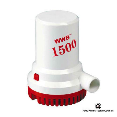 GOL Pump- 1500 GPH 12V Bilge Pump