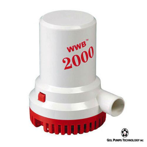 GOL Pump- 2000 GPH 12V Bilge Pump