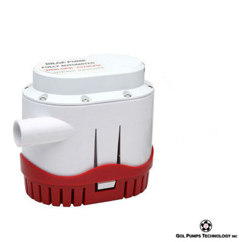 GOL Pump-2000 GPH 12V Automatic Bilge Pump
